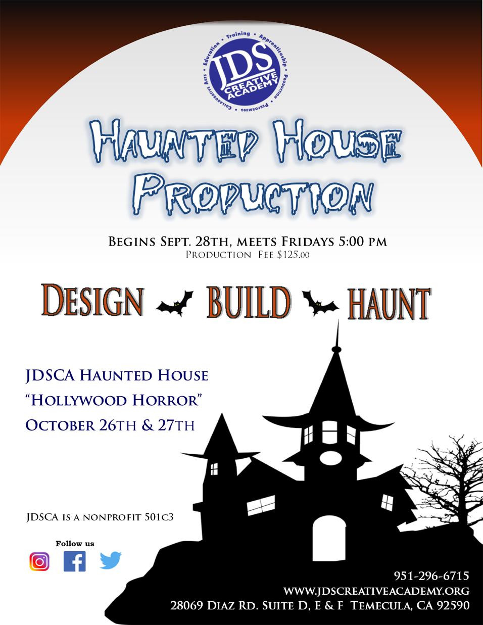 JDSCA 2018 Haunted House