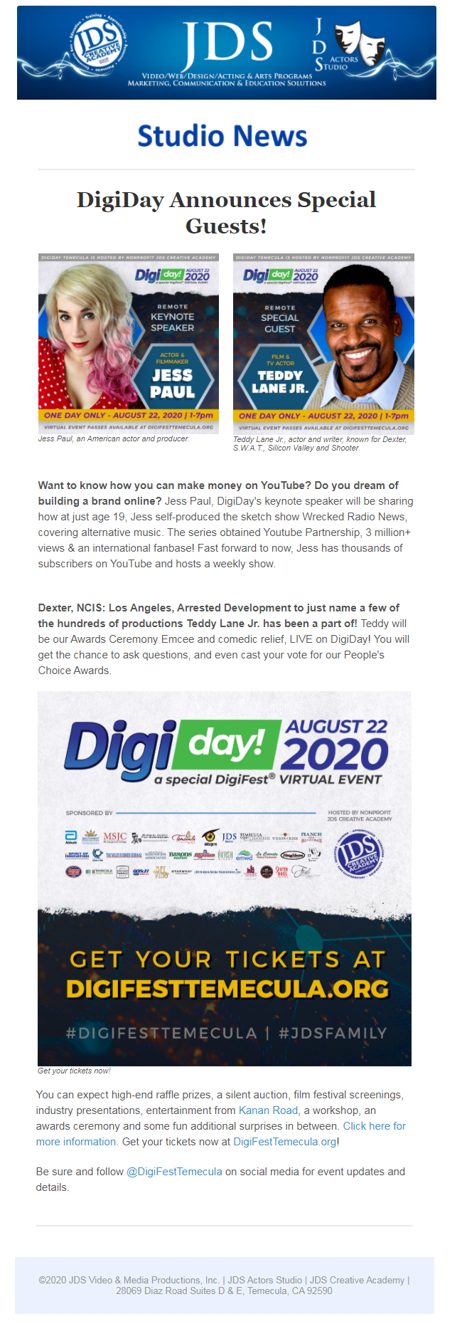 DigiDay 2020, Announces A-List Guests and Event Surprises