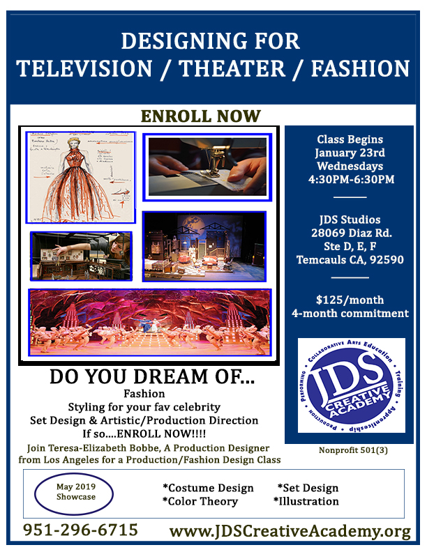 JDSCA Fashion and Production Design