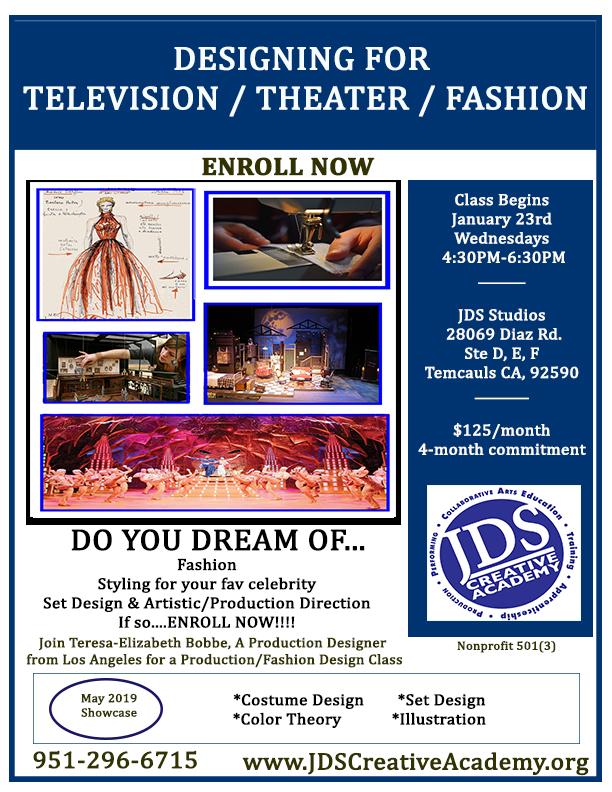JDSCA Fashion and Production Design
