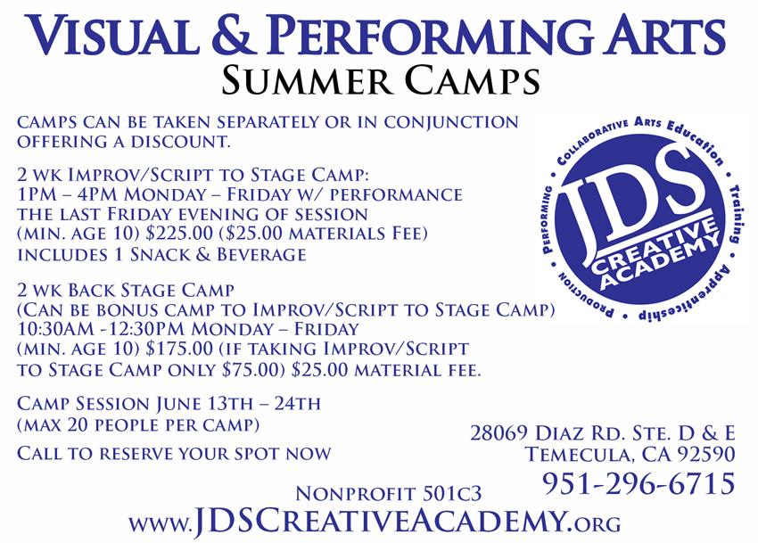 JDSCA Summer Camp