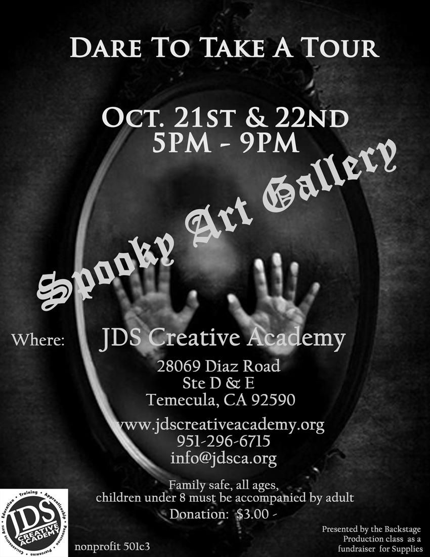 JDSCA Haunted House Spookey Art Gallery
