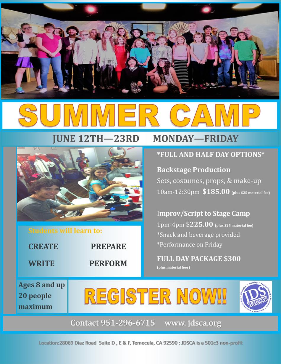 JDSCA Summer-Camp