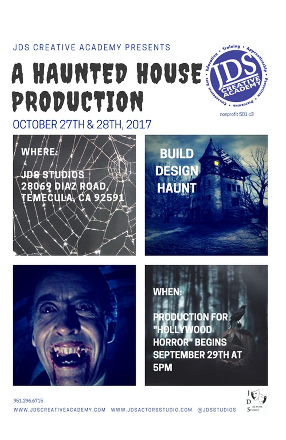JDSCA Haunted House 2017