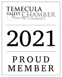 Temecula Valley Chamber of Commerce 2021 Proud Member